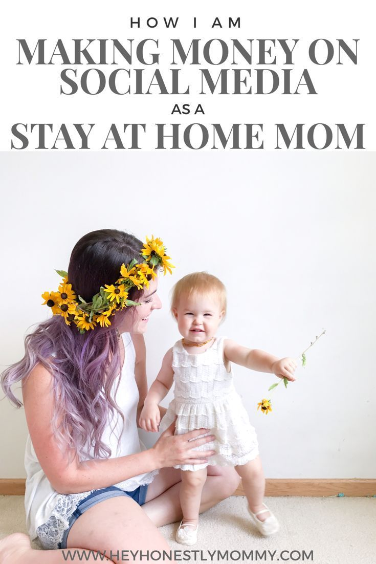 How to make money on Instagram as a stay at home mom ...
