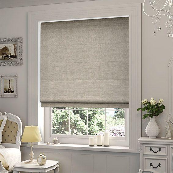 linen roman blind blinds white window shades sheer