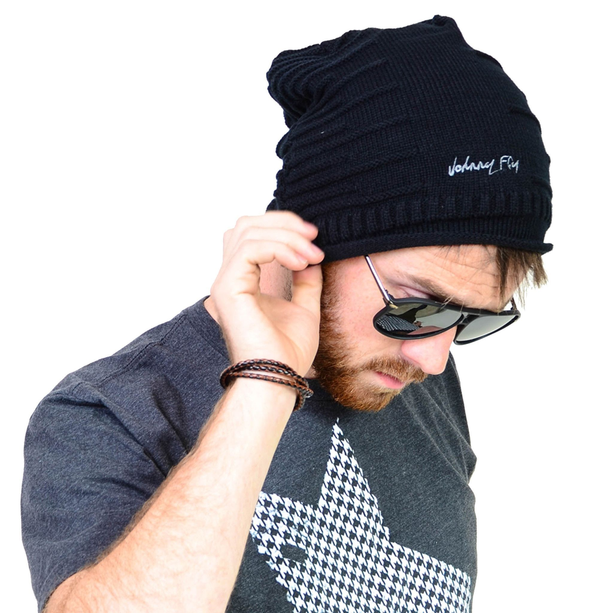 "Signature Knit Cap "" Beanie "" - Black"
