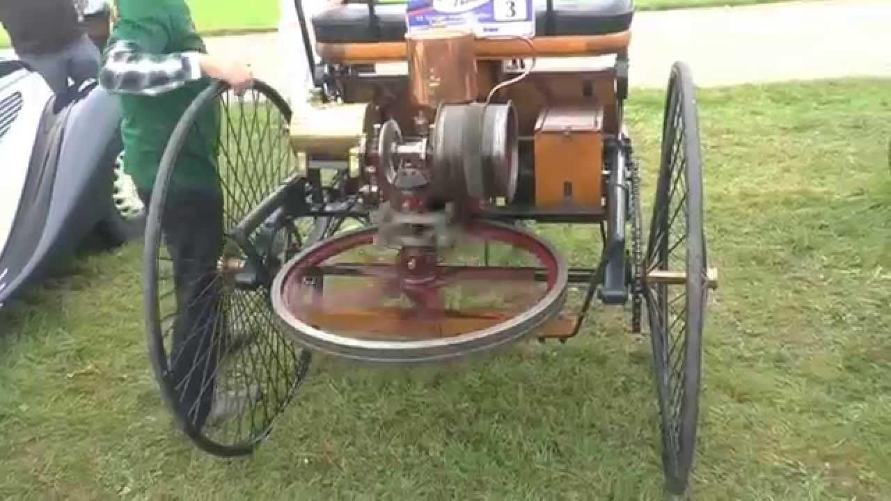Первый автомобиль с двигателем внутреннего сгорания ...