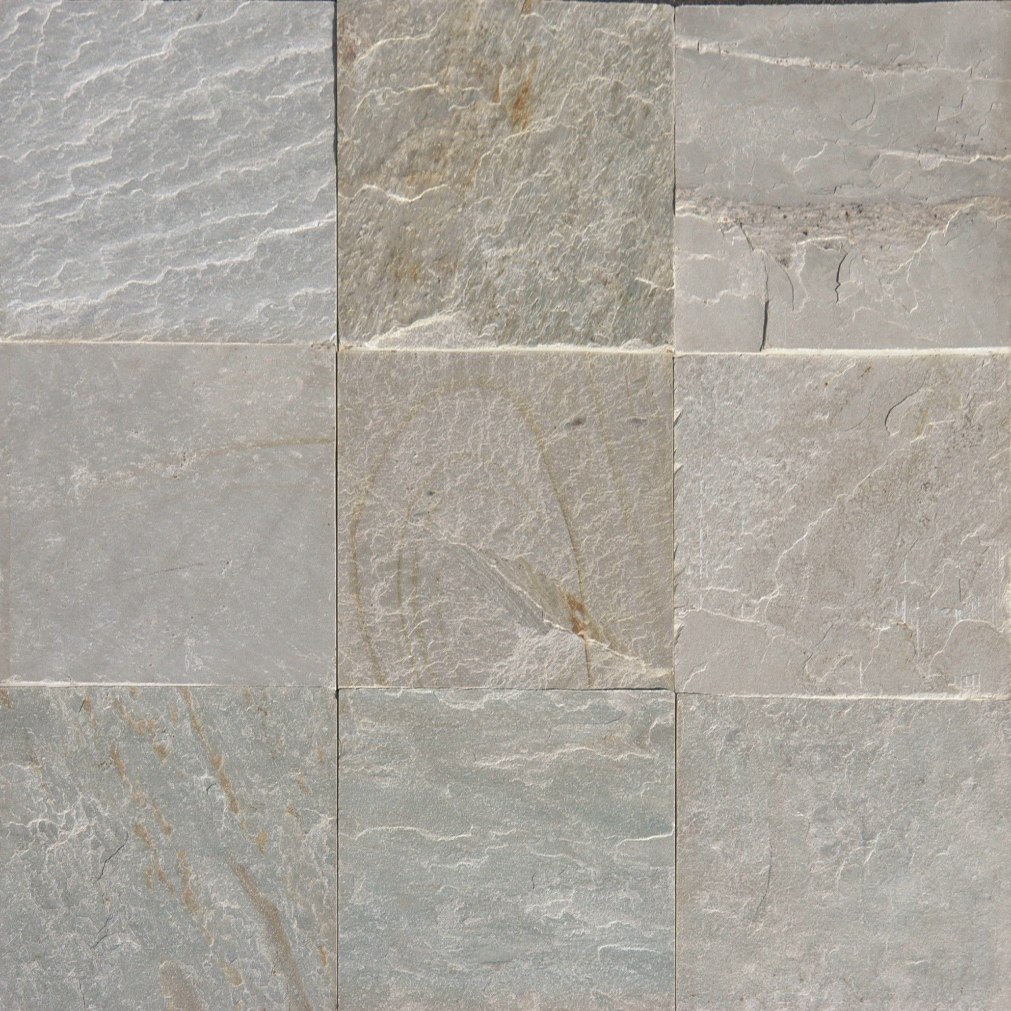4.55 sf Ice White Quartzite Gauged 12x12 White