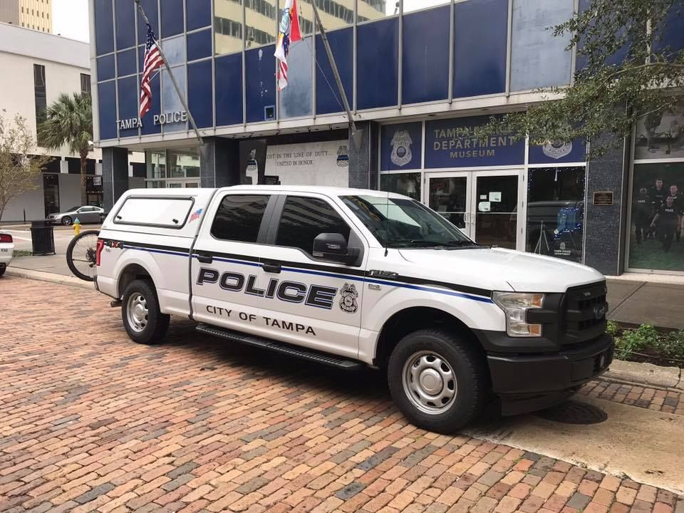 Tampa Florida City Of Tampa Police Department Ford F150 Police Cars Ford Police Police Truck