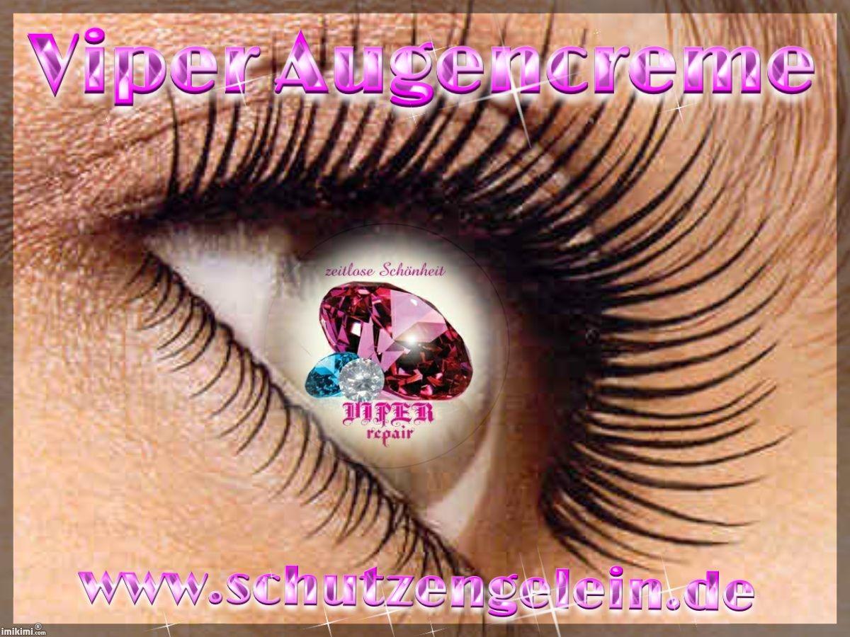Trockene Augenpartien jucken, brennen, spannen und fördern Augenfalten. Mindern kann man diese mit Viper Augencreme sehr gut. Viper Augencreme von Schutzengelein erfrischt die Augenpartie. Der Juck…
