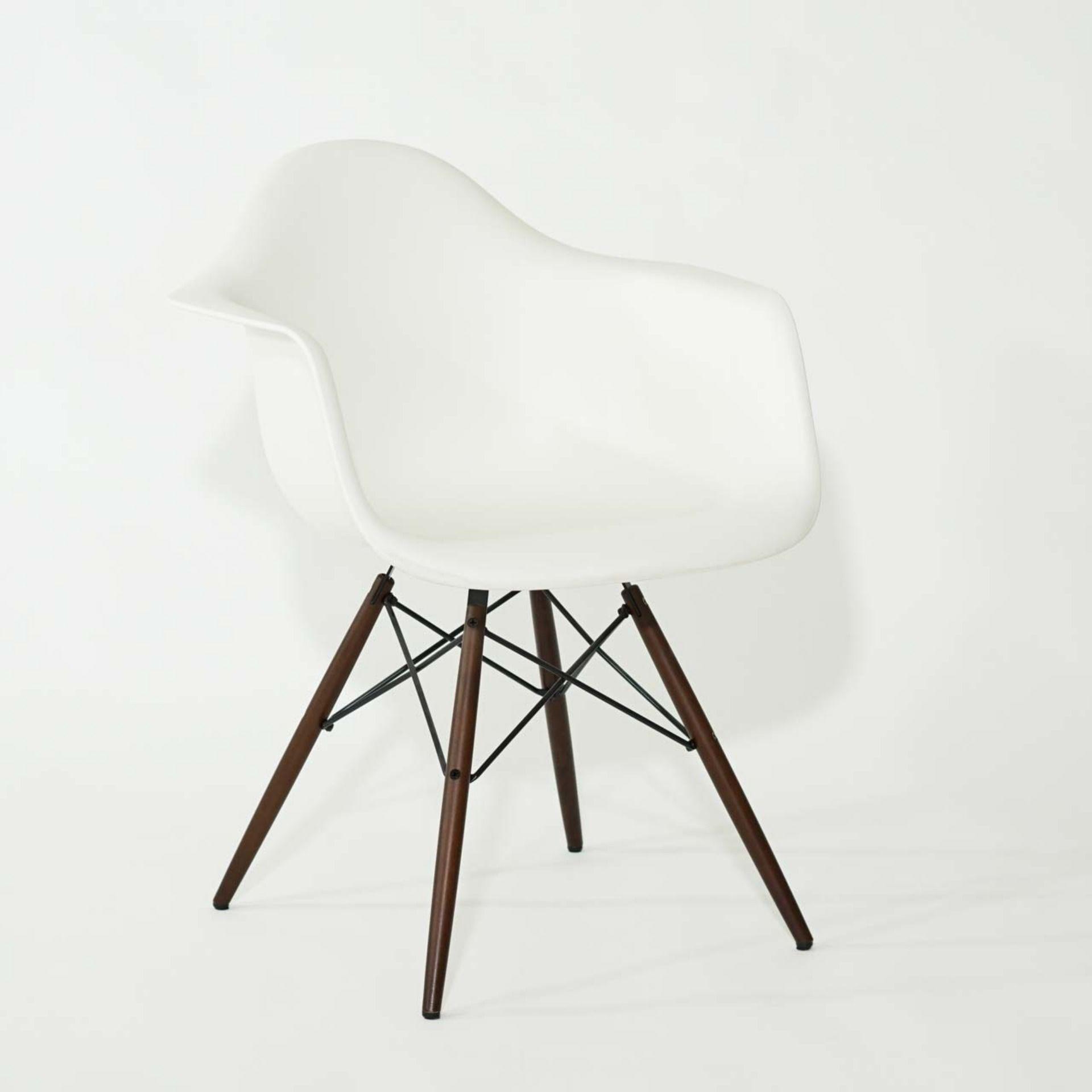 Vitra Eames Plastic Chair Daw Schale Weiss Stuhle Plastikstuhle Eames