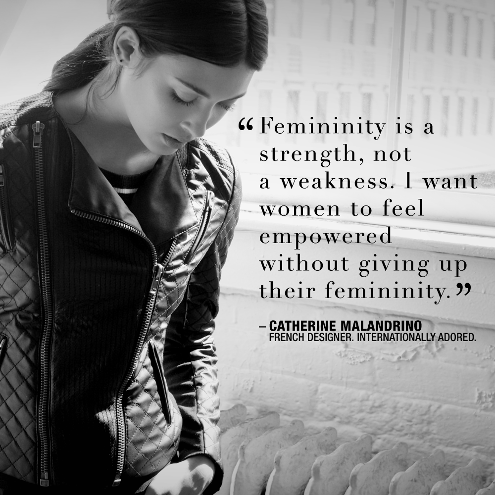 femininity is a strength not a weakness i want women to feel femininity is a strength not a weakness i want women to feel empowered