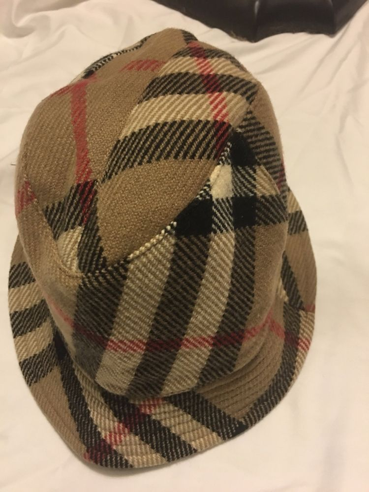 100% Burberry Nova Check Bucket Classic Plaid Hat Beige Small L GREAT   fashion  clothing  shoes  accessories  womensaccessories  hats (ebay link) 848d9cf2750