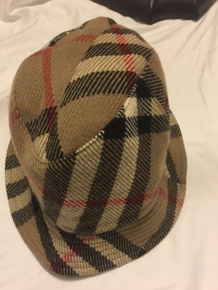 99042bdbaf2 100% Burberry Nova Check Bucket Classic Plaid Hat Beige Small L GREAT   fashion  clothing  shoes  accessories  womensaccessories  hats (ebay link)