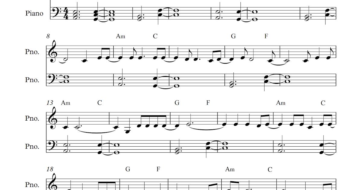 Piano hello piano sheet music : Free full piano sheet music: Adele - Hello.pdf My favourite ...