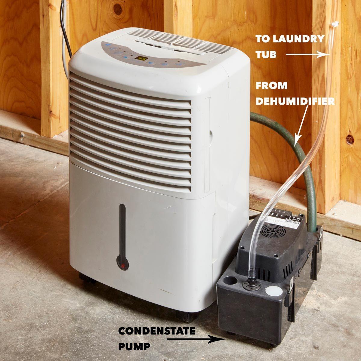 Save Time With A Diy Self Draining Dehumidifier Dehumidifier