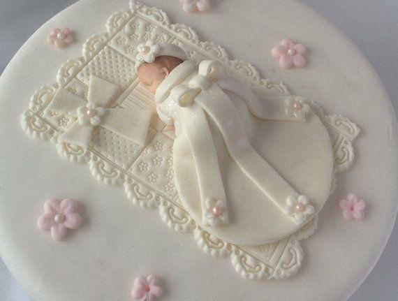 bapt me cake topper baby girl premier anniversaire bapt me de douche de b b cake topper g teau. Black Bedroom Furniture Sets. Home Design Ideas