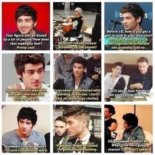 Zayn Quotes He S Actually Really Funny I Love One Direction One Direction Memes One Direction Humor