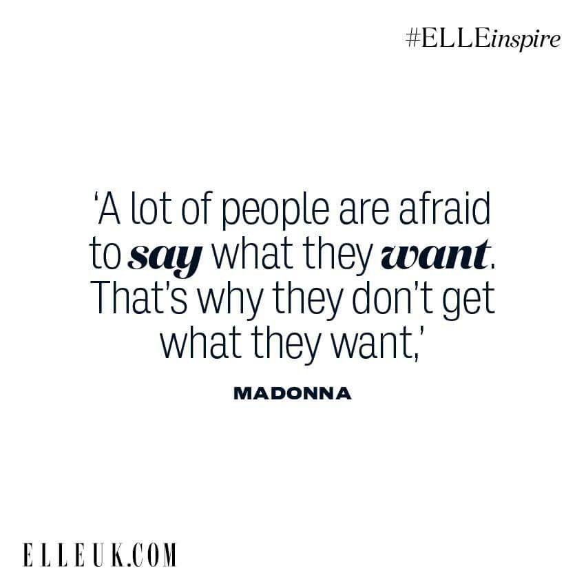 Madonna Inspirational Quotes: Madonna Quotes