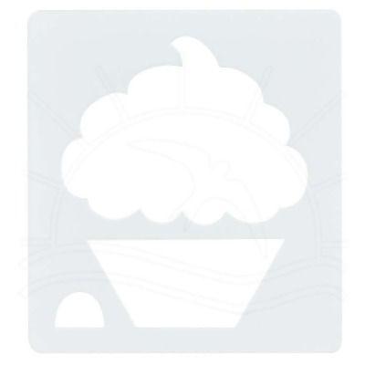 Régua Deize Costa - Aplique Cupcake Grande  Customize suas peças e agilize sua produção com produtos Deize Costa, referência em artesanato.  Contém: 1 peça Tamanho: 12,5 x 12,5cm Material plástico de boa qualidade, não é acrílico.   Fabricante:  Deize Costa