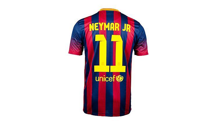 Nike Barcelona Neymar Home Jersey 2013-2014 - SoccerPro.com  d5cff7d62b022