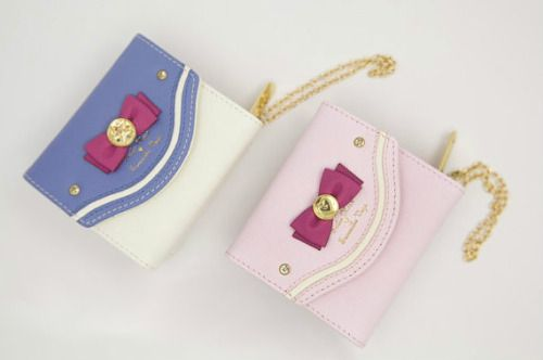 Sailor Moon inspired Wallet? Yes Please. These are adorable!