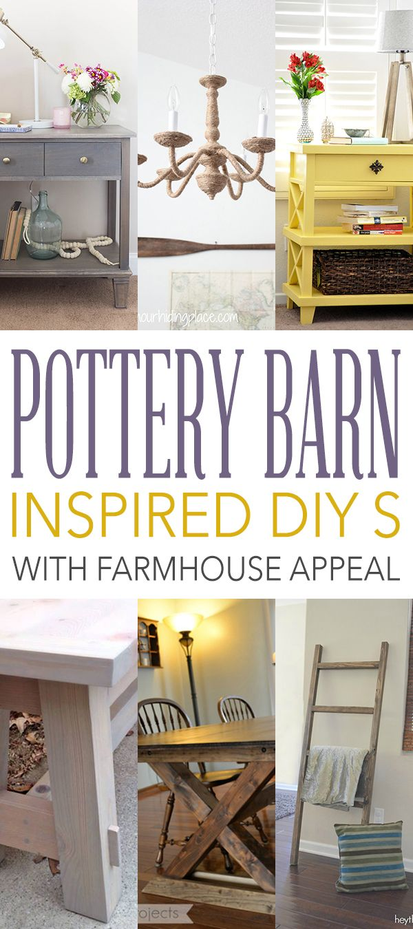 Pottery Barn Inspired DIYs with Farmhouse Appeal Pottery