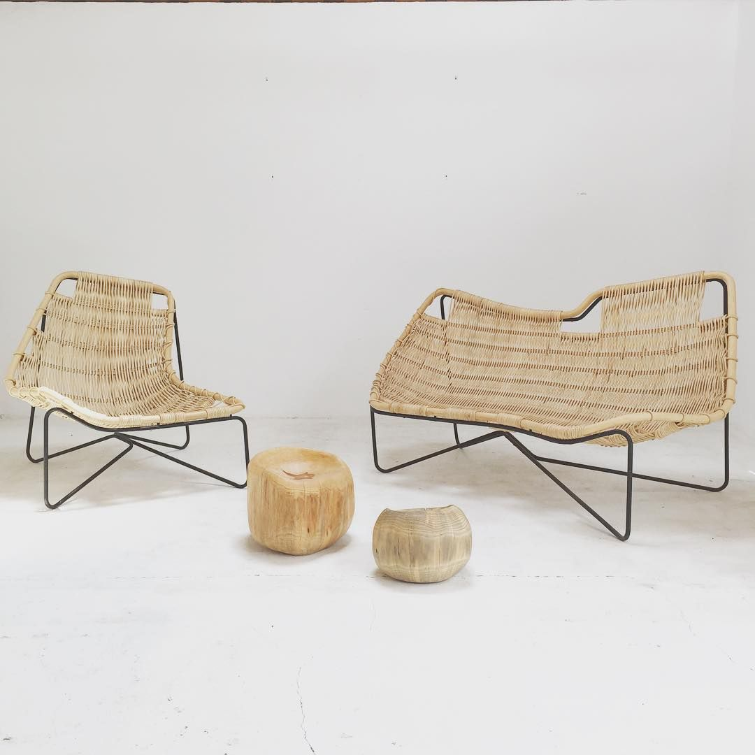 Outdoor rattan furniture by Benedetta Tagliabue. - Outdoor Rattan Furniture By Benedetta Tagliabue. < Objects