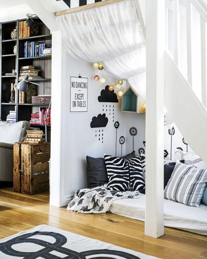 10 Idees Deco Pour Amenager Le Dessous D Un Escalier Idee Deco