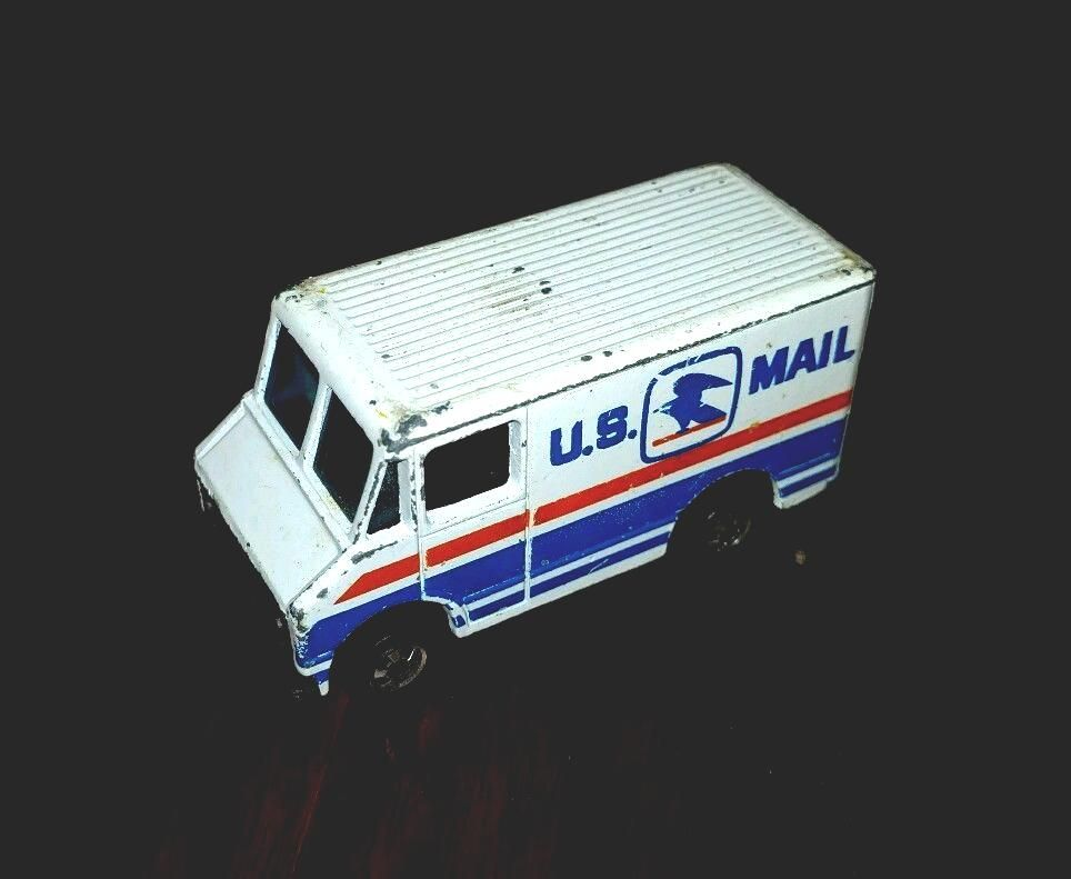 70's #vintage Hot Wheels U s  Mail Truck Usps from $5 99 | B's Retro