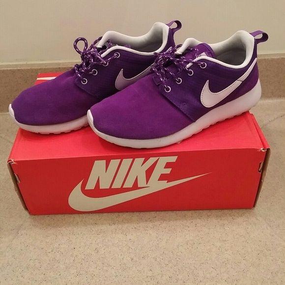 Nike Rosherun Roshe Run (GS) Electro Purple Violet Frost