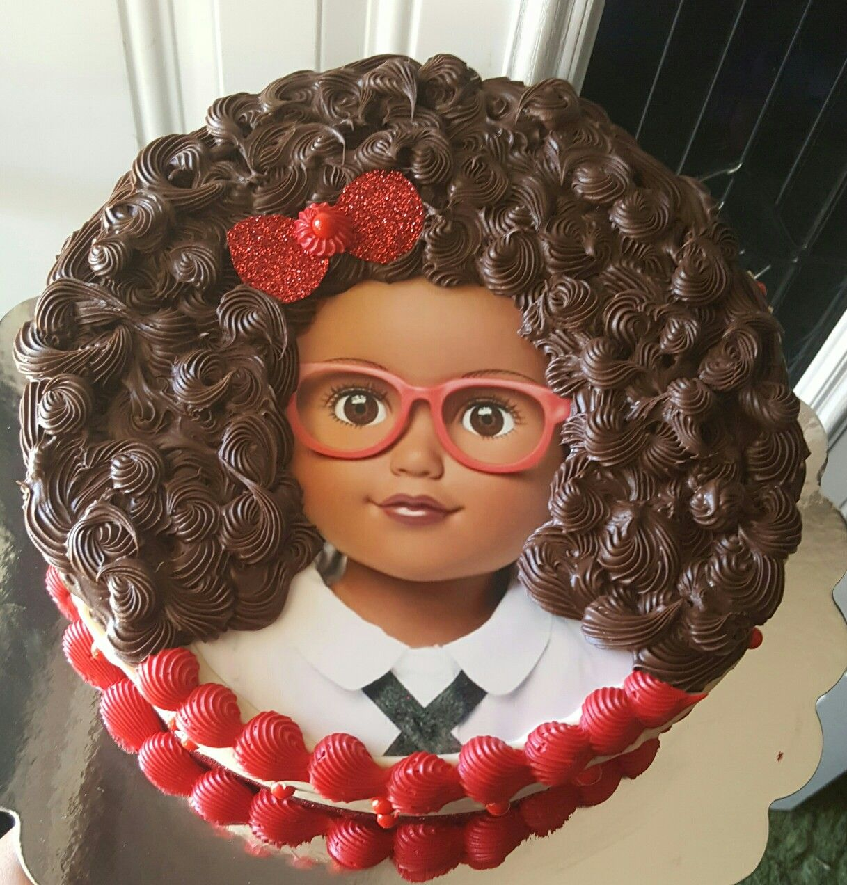 I always wanted to make a cake like thisand i finally