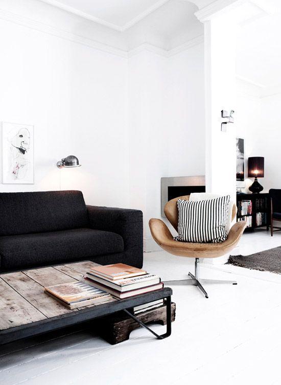 Good Ideen · Neutrale Minimalistische Wohnzimmer Einrichtung. Ideas
