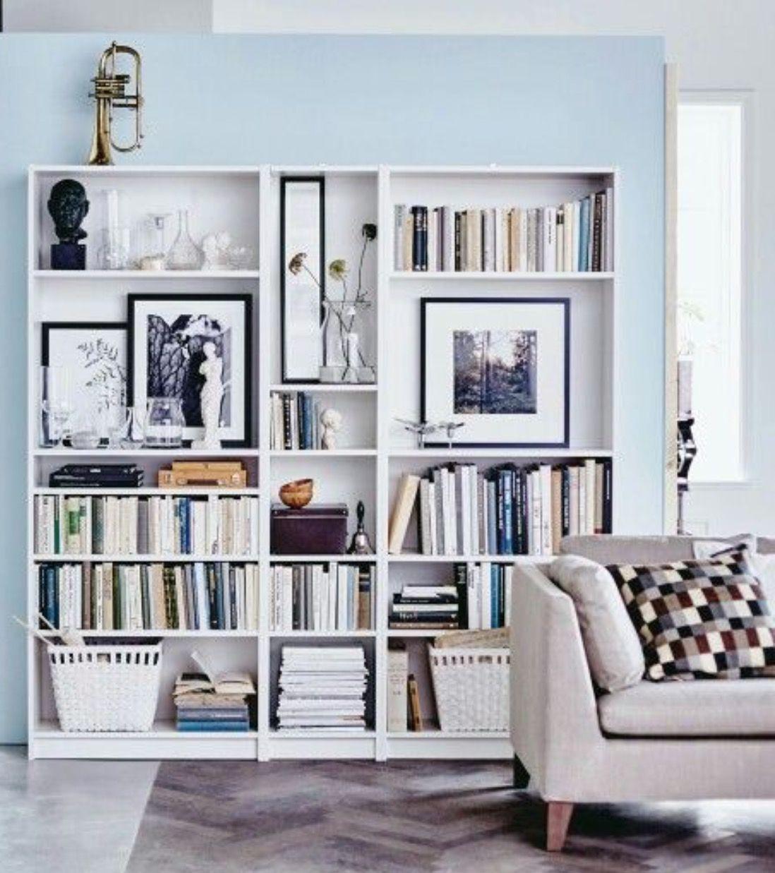 35+ Awesome Design Bookshelves Ideas | Home living room ...