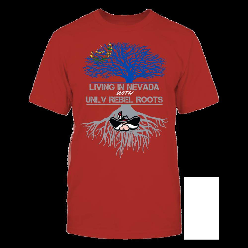 Unlv Rebels Living Roots Nevada Sports Fan Shirt Sports Shirts Fan Shirts