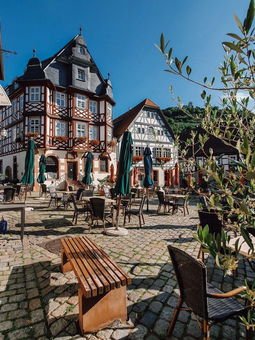 Schöne Ausflugsziele in der Bergstraße in Südhessen