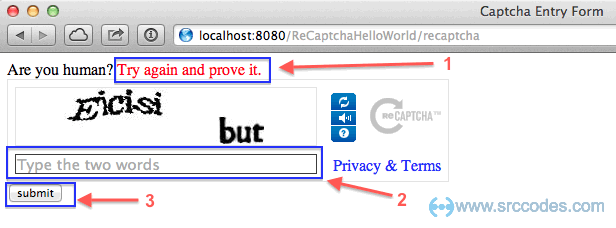 Integrate Free Anti Bot Service Recaptcha With Spring Mvc