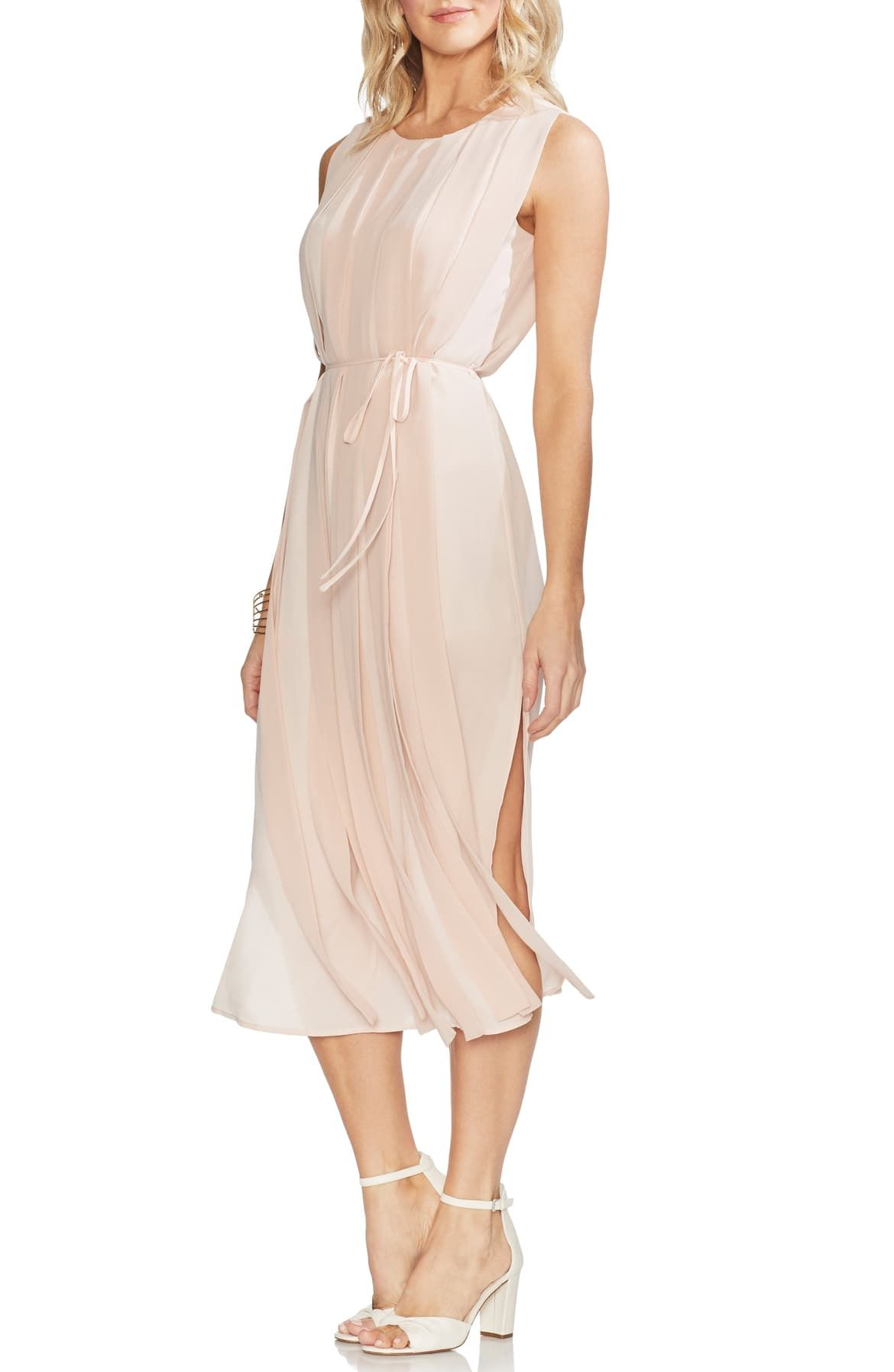 Vince Camuto Pleated Overlay Sleeveless Dress Nordstrom Dresses Overlay Dress Nordstrom Dresses [ 1794 x 1170 Pixel ]