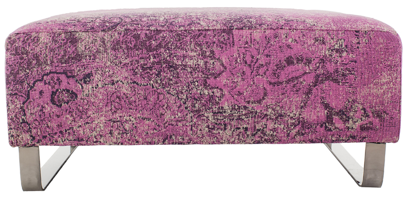 Unveiling a Dream: The Mysticism Collection // pink raised ottoman