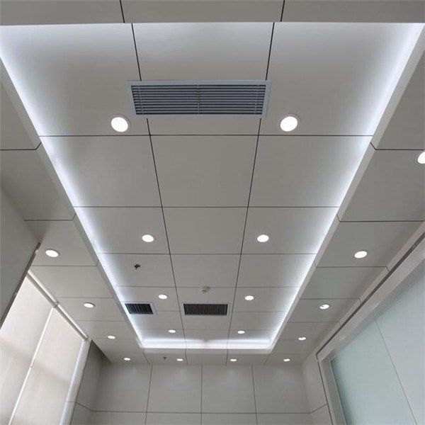 2017 Project Decoration Metal Tube Ceiling Ceiling Materials Baffle Ceiling Acoustic Ceiling Tiles