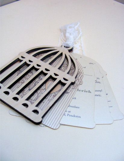 Laser Cut Invitations Vintage Style Google Search