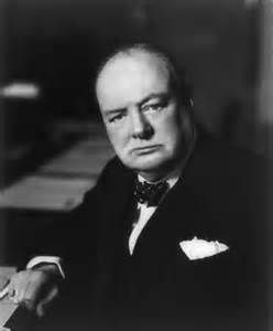 """""""A fanatic is one who can't change his mind and won't change the subject."""" - Winston Churchill quote"""