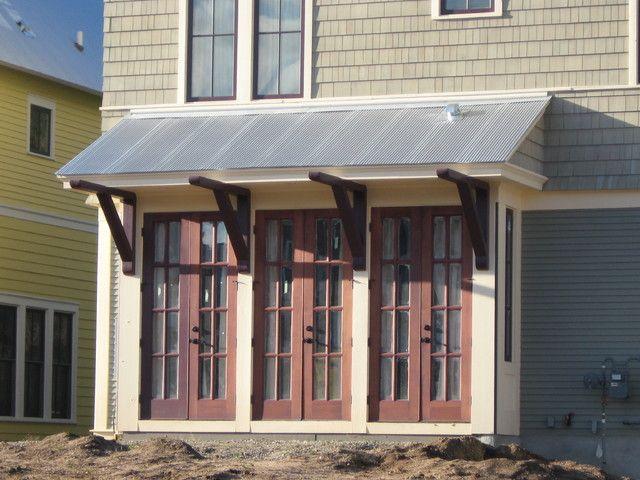 Narrow Lot Wrap Around Porch Shingle Style Patio Roofs
