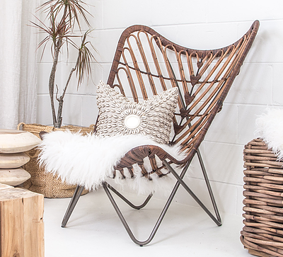 Plantation Butterfly Chair - Rattan | Uniqwa, plantation butterfly rattan chair, chairs, seats, occasional chairs, butterfly design chairs, Plantation chairs, uniqwa chairs, uniqwa furnitures