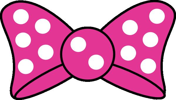 Minnie Mouse Bow Template Printable | Minnie Bow clip art - vector clip art online, royalty free & public ...                                                                                                                                                      Más