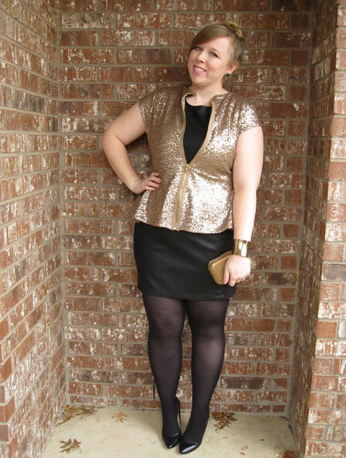 DIY FATSHION Sequin outfit, Fashion, Plus size fashion