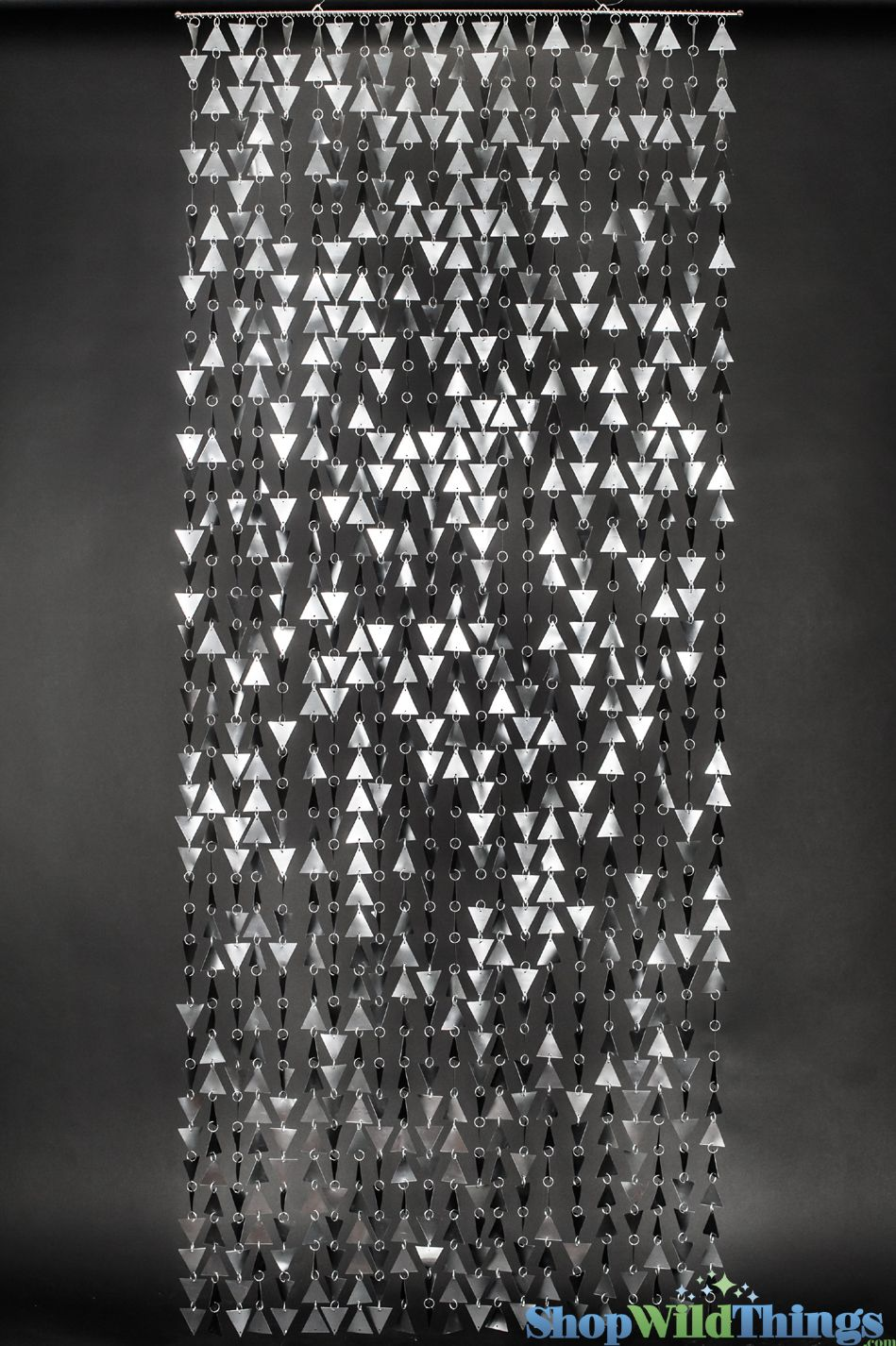 Ha hanging bead curtains for doorways - Trilogy Beaded Curtain Graphite 3 Ft X 7 5 Ft Bead Curtain