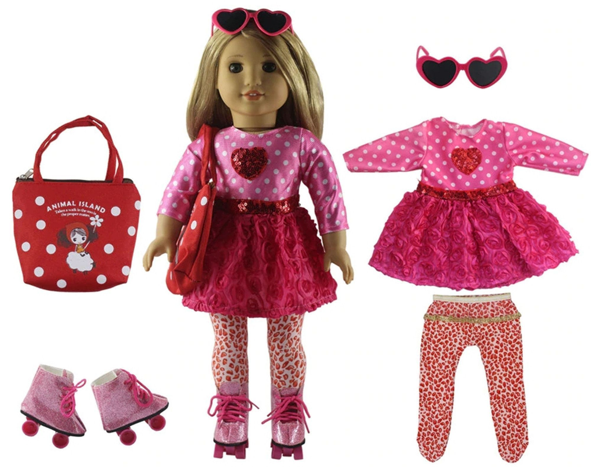 "-Tennis Shoes fits American Girl and 18/"" Dolls DOLL CLOTHES"