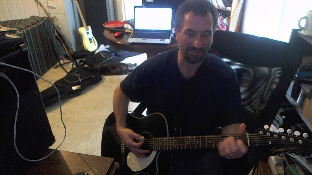 How To Play An Acoustic Guitar Part 4 E Major Chord How To