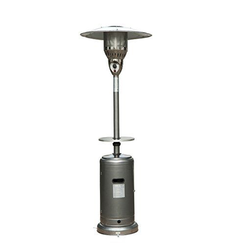 Fire Sense Hammer Tone Bronze Commercial Patio Heater   A Friend  Recommended This Model $155.