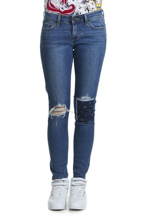 Jeans clair femme levis