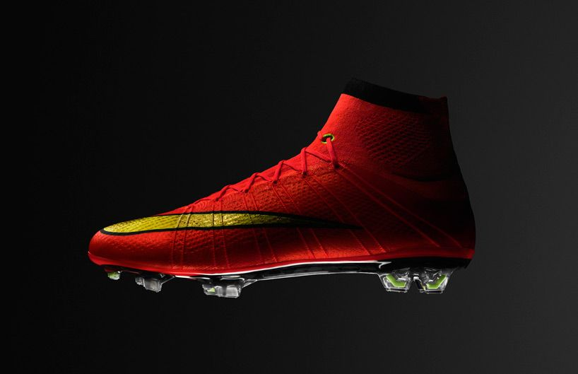 architecture of the NIKE mercurial superfly 10 football boot