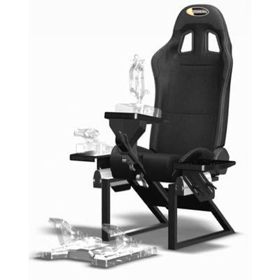 Flight Simulator Chair 360 Ikea Bean Bag Chairs Features Compatible With Playstation2 Playstation3 Playstation4 Playseats Air Force Deco Gamer Gaming Setup Make Money