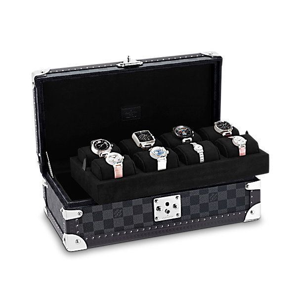 58683a30b5 8 Watch Case - Damier Graphite Canvas - Travel | … | Watches ...