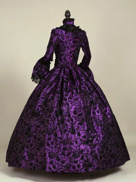 533e27508a33 Two-Tone Gothic Victorian Ball Gown in 2019 | KarenPurple ...