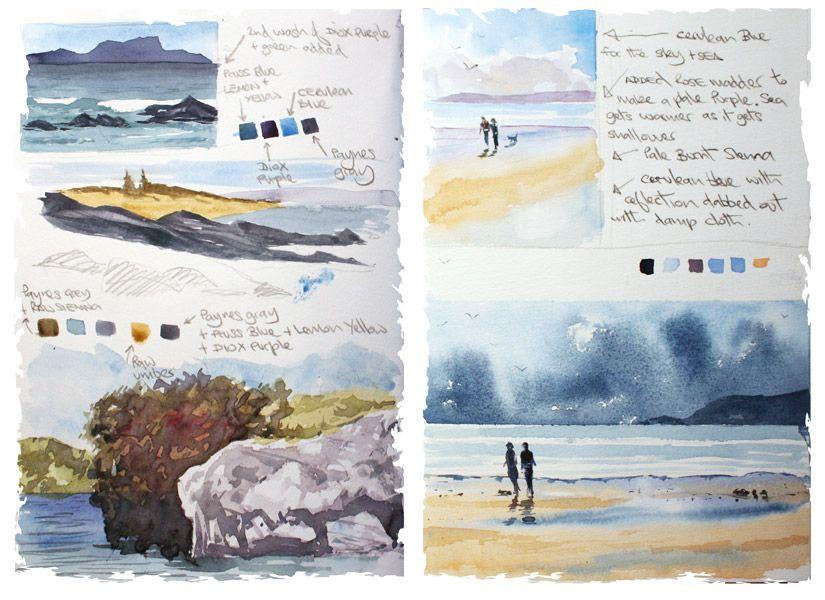 Northland Watercolour Sketchbook Pdf Ebook In 2020 Watercolor