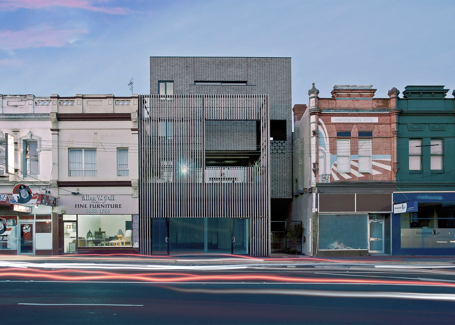 ola architecture studios melbourne housing is as an ode to brick
